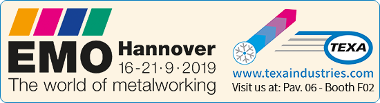 We are exhibit at EMO Hannover, September 16-21, 2019